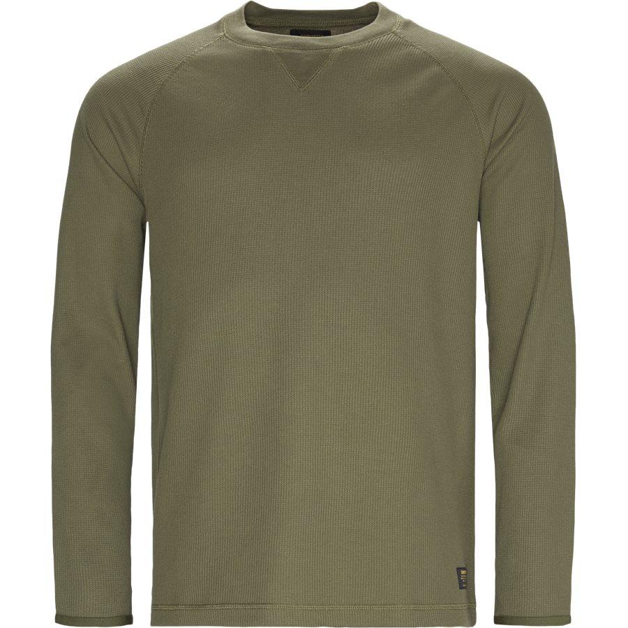 L/S LEEWARD I025152 - L/S Leeward - T-shirts - Regular - ROVER GREEN - 1